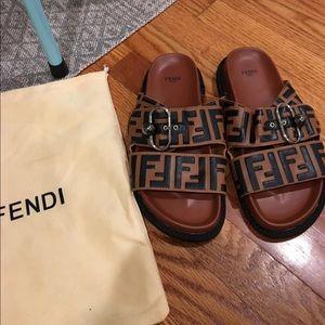 Fendi slides!